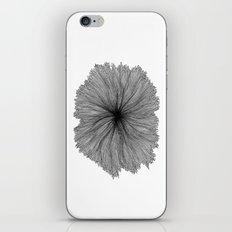 Jellyfish Flower B&W iPhone & iPod Skin