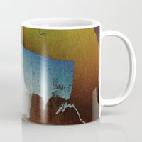 butt Mugs featuring a butt by ONEDAY+GRAPHIC
