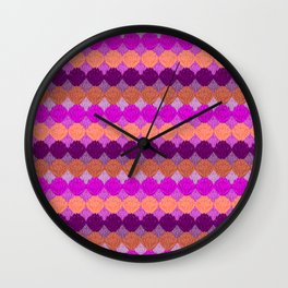 Otomi Inspiration (Pink) Wall Clock