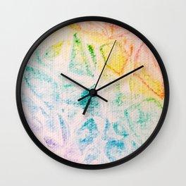 Rainbow Abstract #2 Wall Clock