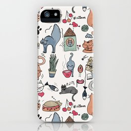 Cats Life iPhone Case