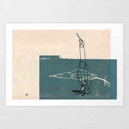 Really Great Bittern Art Print