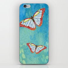 Stained Glass Butterfly iPhone & iPod Skin