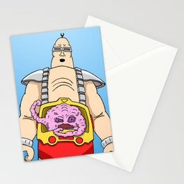 Krang Stationery Cards