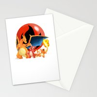 Spit Fires Stationery Cards