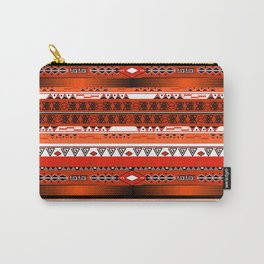 Ethnic stripes. Tribal pattern Indians. Carry-All Pouch