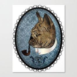 Mr. Couture - French Bulldog Canvas Print