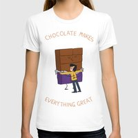 chocolate T-shirts featuring Chocolate! by Wackom