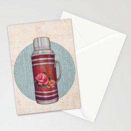 Retro Warm Water Jar Stationery Cards