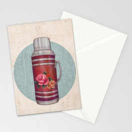 Retro Warm Water Jar Stationery Cards