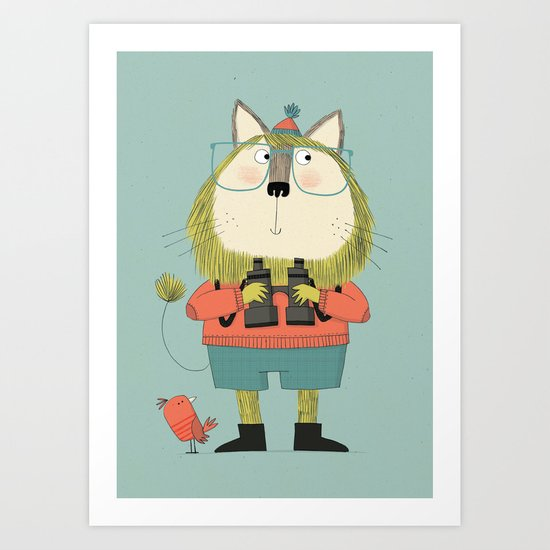 Twitcher Art Print