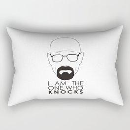 I Am The One Who Knocks Rectangular Pillow