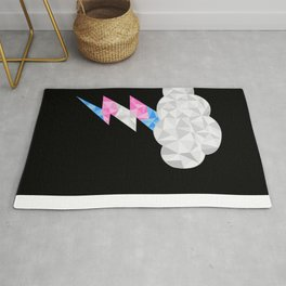 Transgender Storm Cloud Rug