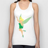 tinker bell Tank Tops featuring Tinker bell by Dewdroplet
