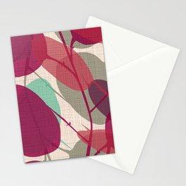 Lunaria purple Stationery Cards