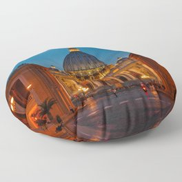 Papal Basilica of St. Peter in the Vatican Floor Pillow