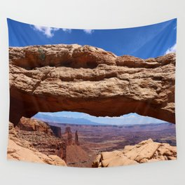 Mesa Arch View Wall Tapestry