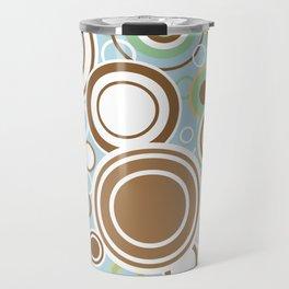 Retro Circles Travel Mug