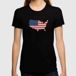 United States of America Map T-shirt