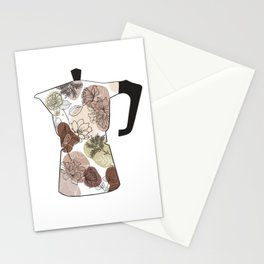 coffee maker Stationery Cards