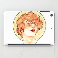enjolras iPad Cases featuring Enjolras by chazstity