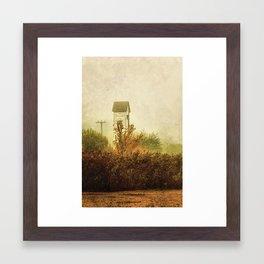 Ancient Transformer Tower  Framed Art Print