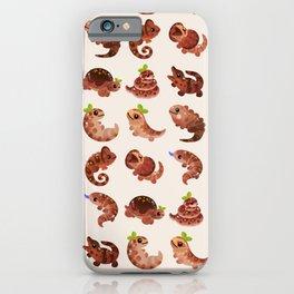 Chocolate Reptiles iPhone Case