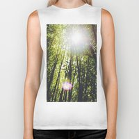 bamboo Biker Tanks featuring Bamboo by Warren Silveira + Stay Rustic