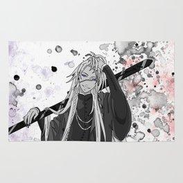 Black Butler Kuroshitsuji Undertaker Rug