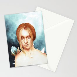 Through the body Stationery Cards