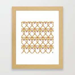 Love and games. Hearts or Spades Framed Art Print