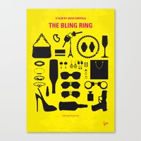 No784 My The Bling Ring minimal movie poster Canvas Print