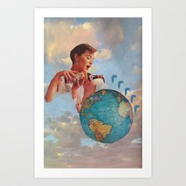 The World Needs Something Art Print