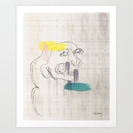 Gazing Art Print
