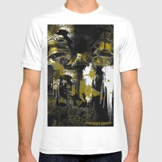 Golden In His Eyes Mens Fitted Tee White MEDIUM