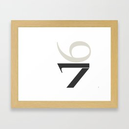 16-17 Framed Art Print