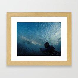 Blue Rider Framed Art Print