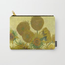 Sunflowers by Vincent van Gogh Carry-All Pouch