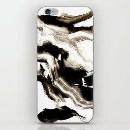 Black + White 3 iPhone Skin