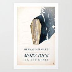 Moby-Dick Art Print
