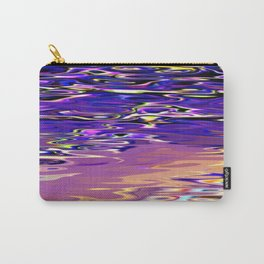 Re-Created Infinity Pool No. 7 by Robert S. Lee Carry-All Pouch