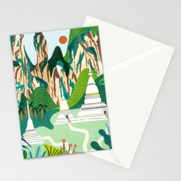 Northern Thailand Stationery Cards