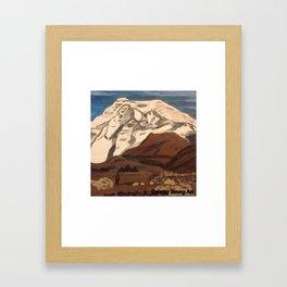 """"""" Bear in Mountain"""" Framed Art Print"""