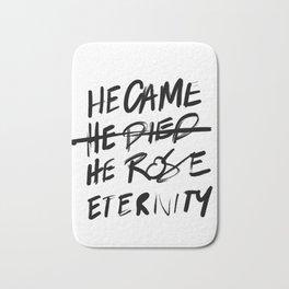 #JESUS2019 - Came Died Rose Eternity 3 Bath Mat