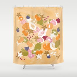 Fruit Salad Shower Curtain