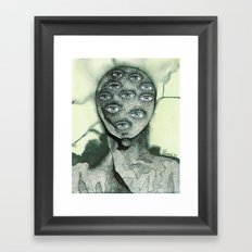 One look would have been sufficient Framed Art Print