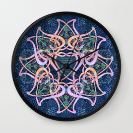 Scottish Celtic Blessing Wedding Art Wall Clock