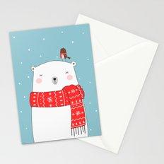 POLAR BEAR&LITTLE BIRD CHRISTMAS Stationery Cards