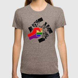 Obliterate Hate w/ Pride (women) T-shirt