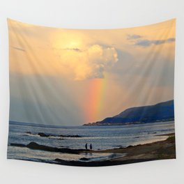Adventure under the Rainbow Wall Tapestry